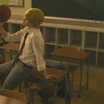 黒子のバスケ黄瀬涼太コスプレ海常アニメ版グレー制服教室スタジオ