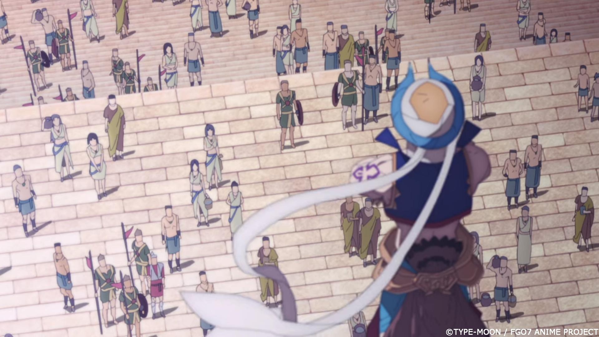 FGO絶対魔獣戦線バビロニアアニメギルガメッシュ王演説台詞名言画像