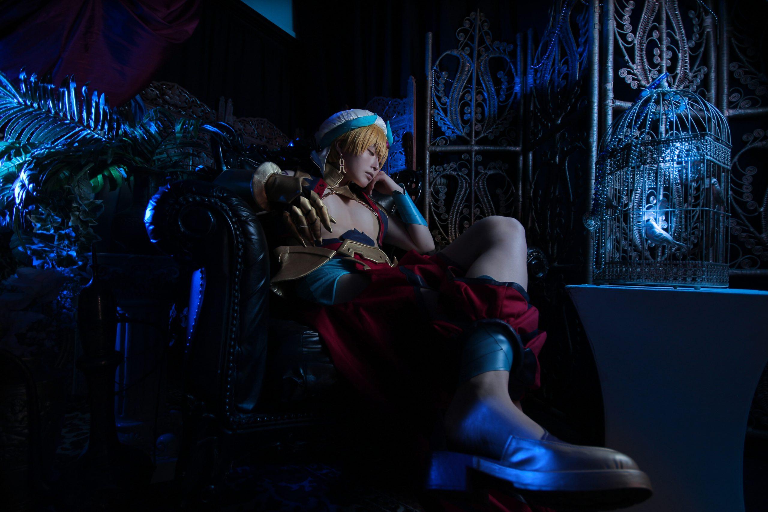FGO7章バビロニアアニメ術ギル賢王ギルガメッシュコスプレキャスター