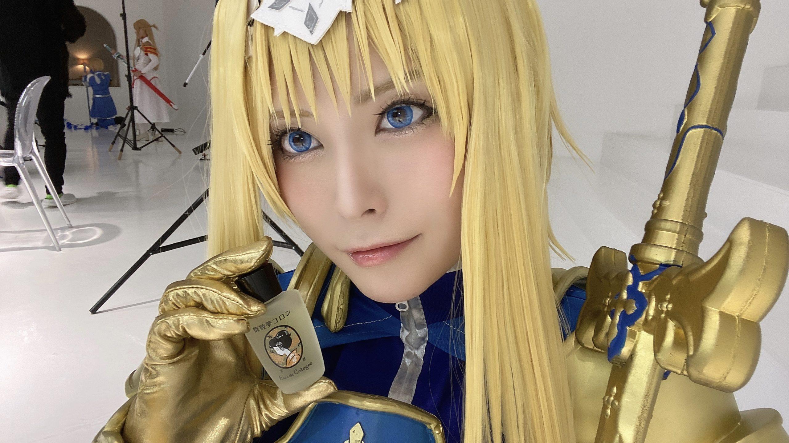 ソードアート・オンラインアリシゼーション編SAO整合騎士アリス・シンセシス・サーティコスプレ画像