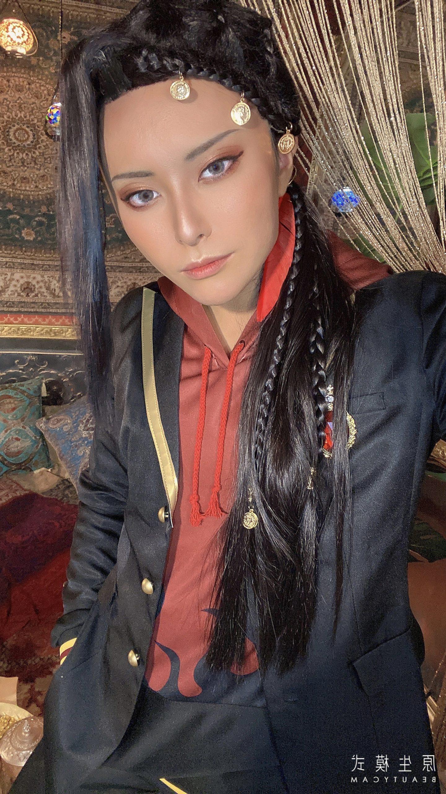 ツイステッドワンダーランドジャミル・バイパー制服コスプレアラビアンスタジオスカラビア寮腕章髪飾り