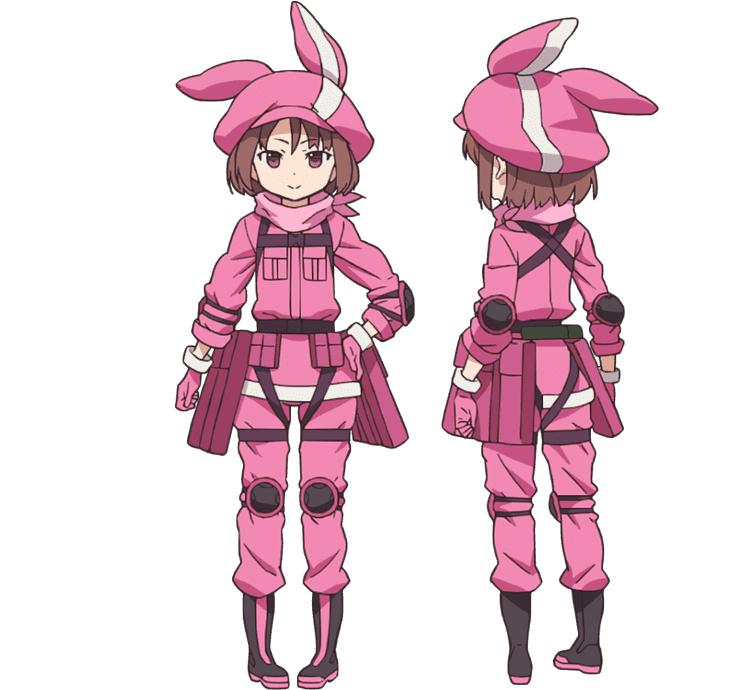 SAOオルタナティブGGOレンアニメ画像